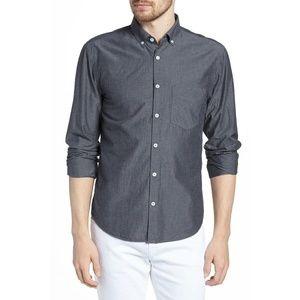 BILLY REID Dark Indigo Kirby Slim Fit Shirt XL